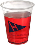 12oz Soft Sided Clear Cups